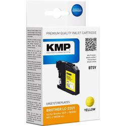 KMP KMP Druckerpatrone ersetzt Brother LC-22UY Gelb Tintenpatrone