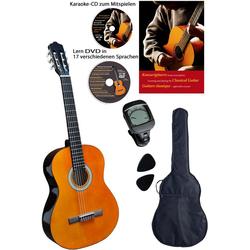 Clifton Konzertgitarre Clifton Konzertgitarren ¼ 1/4, Komplettset