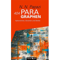404 Paragraphen als Buch von N. N. Papazi