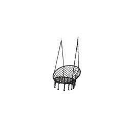 Kaemingk Hängestuhl in schwarz, 82 x 123 cm