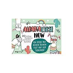 Alpakalypse now - 20 chillige Postkarten mit frechen Sprüchen
