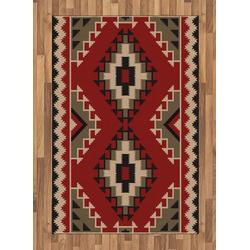 Teppich Flachgewebe Deko-Teppiche für das Wohn-,Schlaf-, und Essenszimmer, Abakuhaus, rechteckig, afghanisch Afghan Stil Motive 120 cm x 180 cm