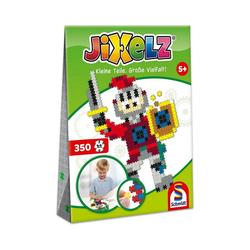 Schmidt Spiele Puzzle Jixelz Puzzle Ritter, 350 Teile, Puzzleteile