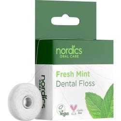 Öko Zahnseide aus Maisstärke frische Minze Nordics