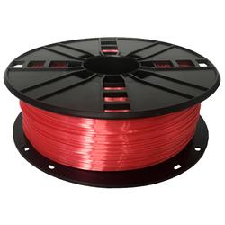 WhiteBOX 3D-Filament  Seiden-PLA rot mit Perlglanz 1.75mm 1000g Spule