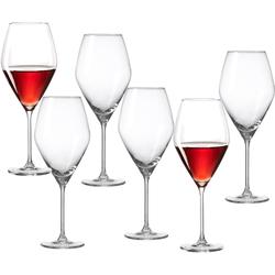 Ritzenhoff & Breker Rotweinglas Salsa (6-tlg), Glas, robust und kristallklar