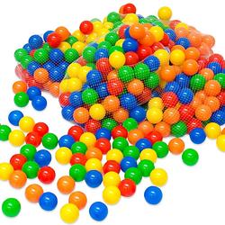 600 bunte Bälle Bällebad 5,5cm Bällebadbälle Spielbälle  Kinder