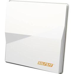 SelfSat Multifeed H50M Quad SAT Antenne 80cm Weiß