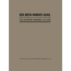 Der Rhein-Nordsee-Kanal als Buch von Herzberg Herzberg