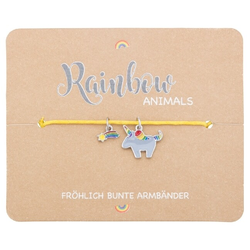 Armband - Rainbow Animals - Einhorn