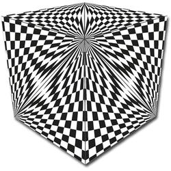 GeoBender Würfelpuzzle Cube Abstract-2 schwarz Kinder Puzzle Gesellschaftsspiele
