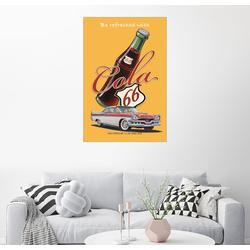 Posterlounge Wandbild, Cola 66 Advertising 100 cm x 150 cm