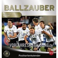 DFB Sammelkartenkalender - Kalender 2018 / Kalender