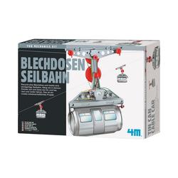 4M Lernspielzeug Blechdosen Seilbahn
