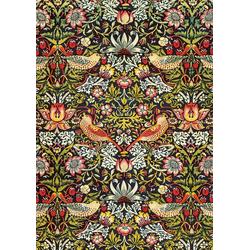 Piatnik Puzzle Morris - Erdbeerdieb, Stoff Design, 1000 Puzzleteile