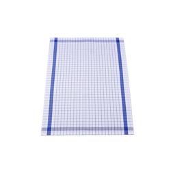 Ross Geschirrtuch mit Karo-Muster in blau