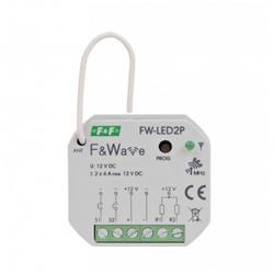 Steuerung 2-kanalig FW-LED2P Funksteuerung F&Wave F&F 9319