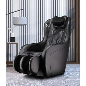 Luxus Massagesessel Shiatsu Leder schwarz mit Heizung Lautsprecher Rollentechnik
