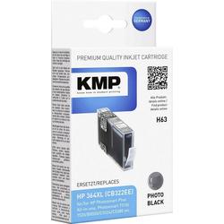 KMP KMP Tintenpatrone H63 Photo Schwarz 1713,0040 Tintenpatrone