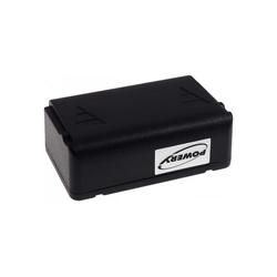 Powery Akku für Kransteuerung Autec Typ LBM02MH Akku 2000 mAh (2.4 V)