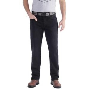 Carhartt Rugged Flex Relaxed Straight Jeans, schwarz, Größe 36