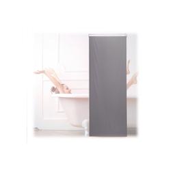 relaxdays Duschrollo Duschrollo grau Breite 60 cm 60 cm x 240 cm