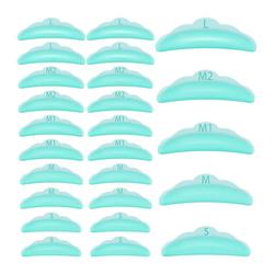 kueatily Wimpernzange Silikon Wimpern Dauerwelle Lockenwickler Dauerwelle Pad Wiederverwendbare Wimpern Dauerwelle Silikon Pads 5 Größen Wimpernlifting Riegel Makeup Beauty Tool