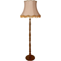 Stehlampe braun