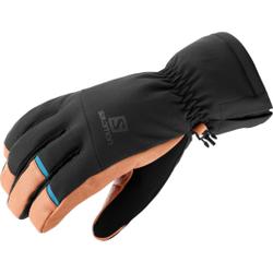 Salomon - Propeller Dry M Black/Tan - Skihandschuhe - Größe: M