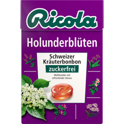 RICOLA o.Z.Box Holunderblüten Bonbons 50 g