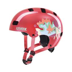 Uvex Kinderfahrradhelm Fahrradhelm kid 3 coral orange 55-58