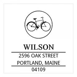 Monogrammstempel - Altes Fahrrad - Trodat 4924