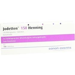 JODETTEN 150 Henning Tabletten 100 St