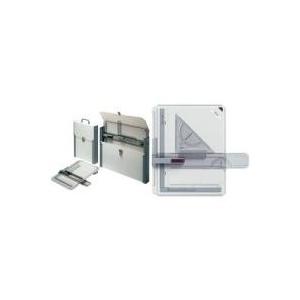 rotring Schnell-Zeichenplatte rapid A3 aus schlagfestem Kunststoff, Parallel-Zeichenschiene mit (S0213910)