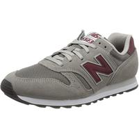 NEW BALANCE Men's 373 dark grey-red/ white, 46.5