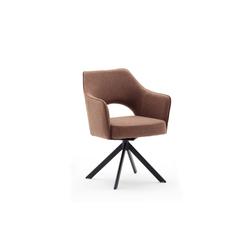 MCA furniture Drehstuhl Tonala in rostbraun
