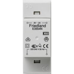 Friedland E3554N Klingel-Transformator 8 V/AC 2A