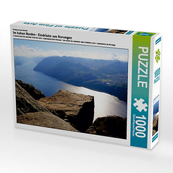 Im hohen Norden - Eindrücke aus Norwegen Lege-Größe 64 x 48 cm Foto-Puzzle Bild von Liane Rönsch Puzzle