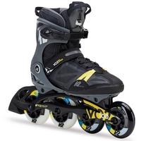 K2 VO2 100 X Pro schwarz/grau/gelb, 42.5