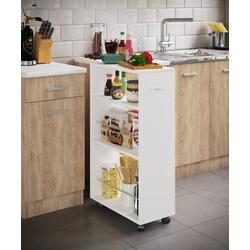 VCM Küchenwagen Nische Küchenwagen Tusal Nische Küchenwagen Tusal weiß