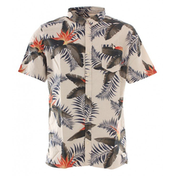 QUIKSILVER POOLSIDER Hemd 2020 snow white poolsider - M