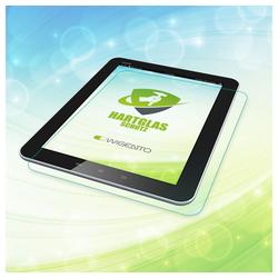 Wigento Tablet-Hülle Premium 0,4 mm Hartglas Schock Folie für Samsung Galaxy Tab A 9.7 T550
