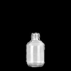200 ml Verpackungsflasche - Klarglas - PP 28
