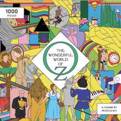 The Wonderful World of Oz: A Movie Jigsaw Puzzle