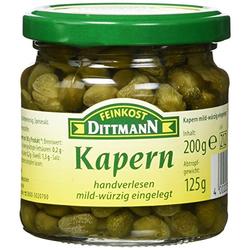 Feinkost Dittmann Kapern, 3er Pack (3 x 200 g)
