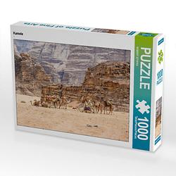 Kamele Lege-Größe 64 x 48 cm Foto-Puzzle Bild von ROBERT STYPPA Puzzle