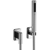 Dornbracht LULU Schlauchbrausegarnitur mit Einzelrosetten platin matt (27808710-06)