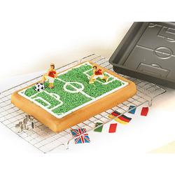 Backform Fußballfeld anthrazit