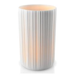 Eva Solo Kerzenhalter mit LED Kerze Weiß 13cm