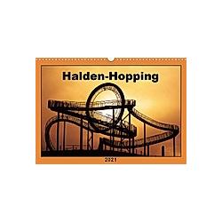 Halden-Hopping (Wandkalender 2021 DIN A3 quer)